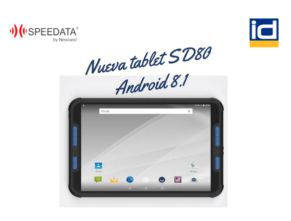 Tablet SD80 Speedata